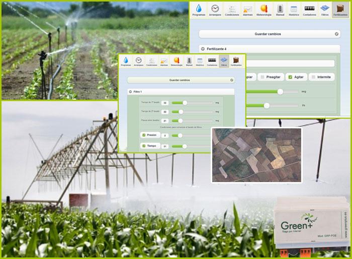 Riego inteligente para cultivos agrícolas e invernaderos